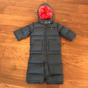 Ralph Lauren Quilted Down Snowsuit
